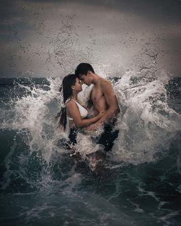 Фото Влюбленные в воде, фотограф Joan Carol