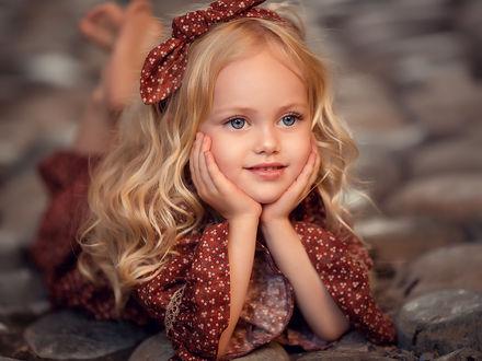 Фото Милая и очень симпатичная девочка. Фотограф Елена Михайлова
