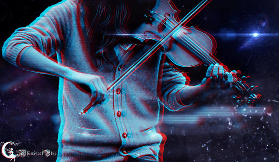 Фото Девушка играет на скрипке, by WhimsicalBlue