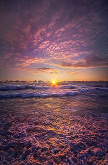 Фото Висконсинские горизонты от Phil Koch, закат над морем