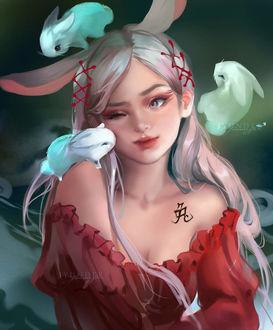 Фото Китайский знак зодиака-Кролик, by Jyundee
