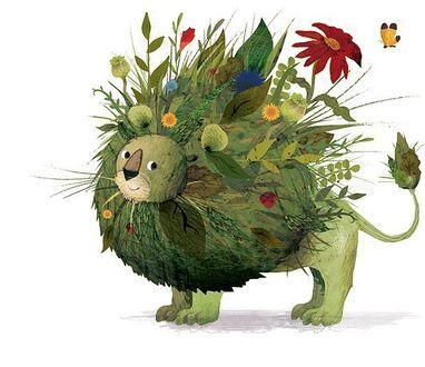 Фото Лев с цветущей гривой, by Frann Preston-Gannon