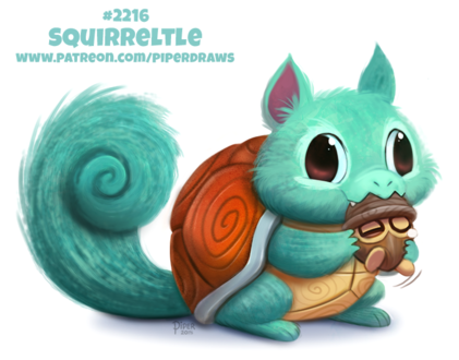 Фото Squirtle / Сквиртл из аниме Pokemon / Покемон, by Cryptid-Creations