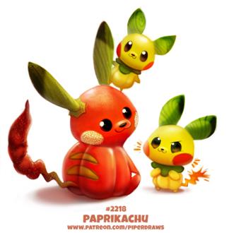 Фото Три съедобных Pikachu / Пикачу из аниме Pokemon / Покемон, by Cryptid-Creations