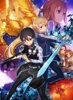 Фото Kirito / Кирито, Eugeo / Юджио, Alice / Алиса, Asuna / Асуна и другие персонажи аниме Sword Art Online Alicization / Мастера Меча Онлайн Алисизация