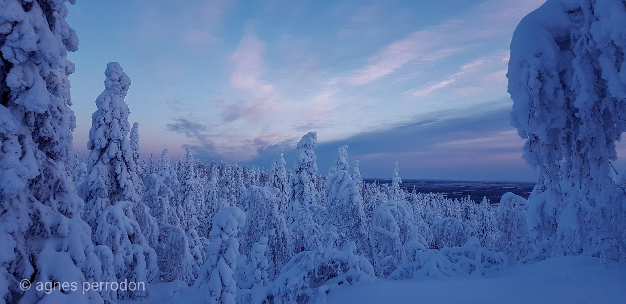 Зимняя природа в Финляндии, by Agnеs Perrodon