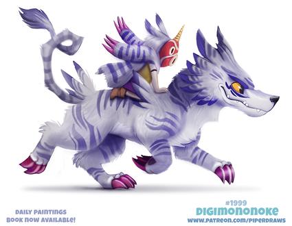Фото Человек на волке (Digimononoke), by Cryptid-Creations
