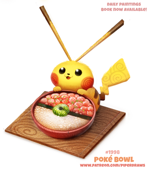 Фото Pikachu / Пикачу из аниме Pokemon / Покемон (Poke Bowl), by Cryptid-Creations