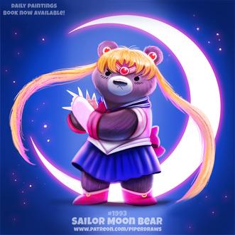 Фото Медведь в образе Usagi Tsukino / Усаги Цукино из аниме Bishoujo Senshi Sailor Moon / Красавица-воин Сейлор Мун (Sailor Moon Bear)
