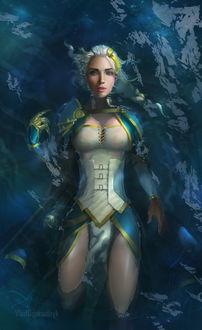Фото Джайна в воде. Мир Warcraft