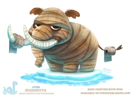 Фото Мамонт-мумия на льду (Mummoth), by Cryptid-Creations
