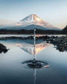 Фото Япония / Japan, вулкан Фудзи / Fuji, by Jordan Hammond