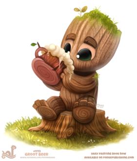 Фото Groot / Грут из фильма Guardians of the Galaxy / Стражи Галактики (Groot Beer), by Cryptid-Creations