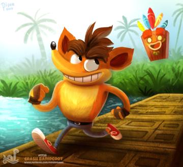 Фото Crash Bandicoot из одноименной игры (Crash Bandicoot), by Cryptid-Creations