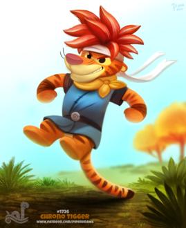 Фото В образе персонажа из аниме Tigger / Тигруля из мультфильма The Tigger / Приключения Тигрули (Chrono Tigger), by Cryptid-Creations