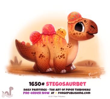 Фото Съедобный динозаврик (Stegosaurbet), by Cryptid-Creations