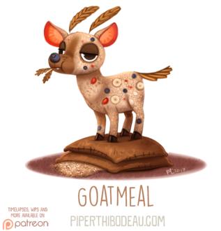 Фото Съедобный козел (Goatmeal), by Cryptid-Creations