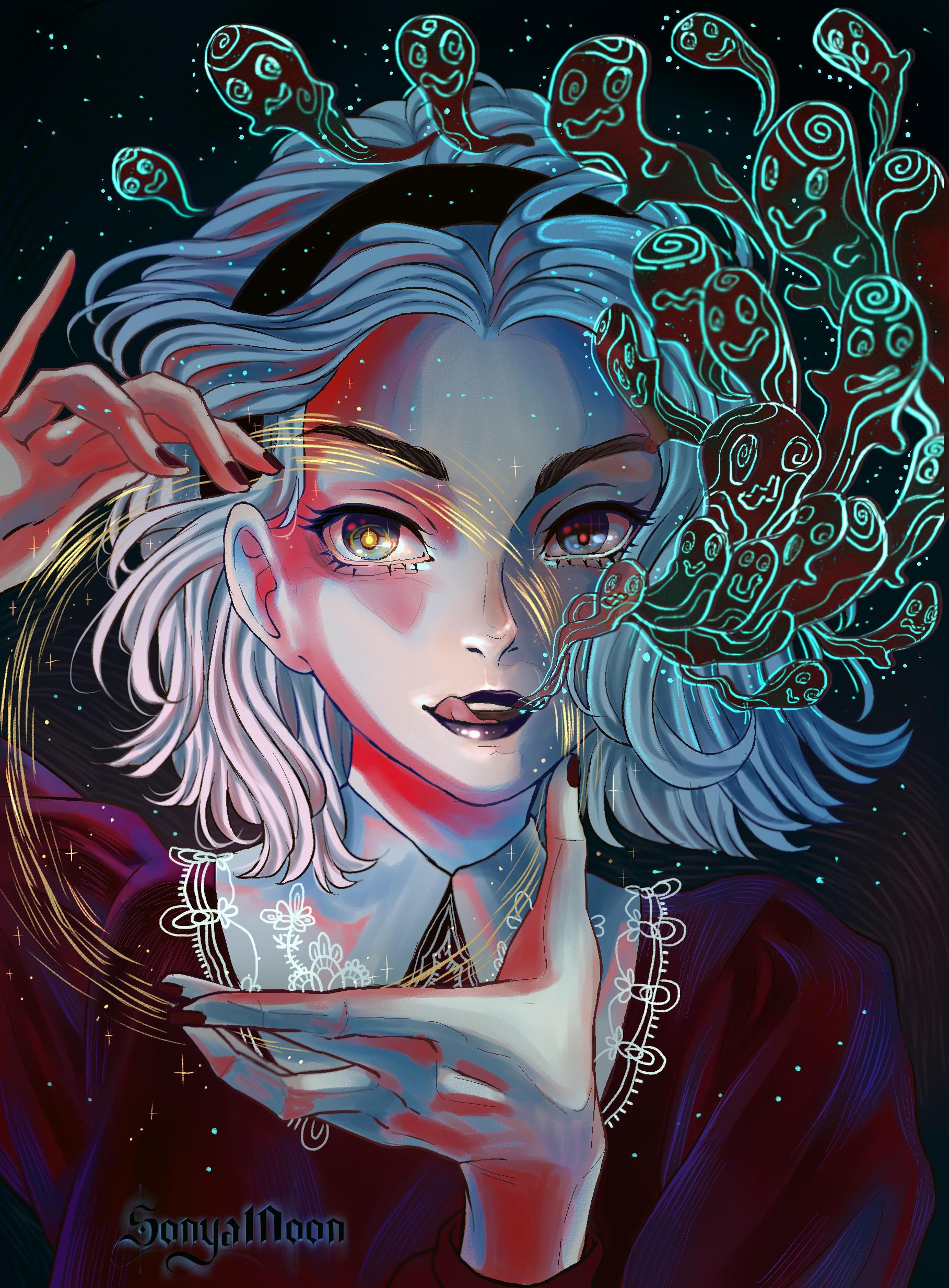 Фото Sabrina Spellman / Сабрина Спеллман из фильма и сериала Sabrina, the Teenage Witch / Сабрина — маленькая ведьма, by SonyaMoon666