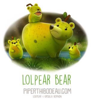 Фото Съедобная медведица с медвежатами (Lolpear Bear), by Cryptid-Creations