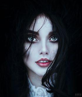 Фото Портрет сероглазой девушки, фотограф Светлана Беляева