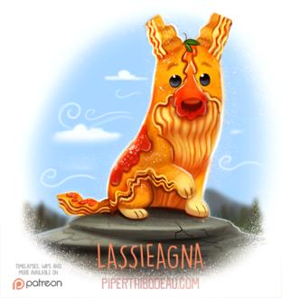 Фото Пес из лапши (Lassieagna), by Cryptid-Creations