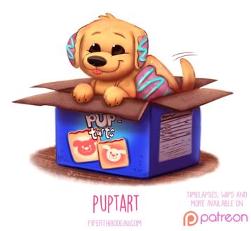 Фото Съедобный пес в коробке (Puptart), by Cryptid-Creations