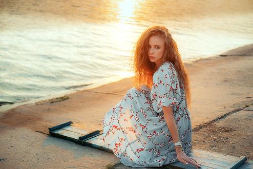 Фото Модель Саша у моря. Фотограф Одинцова Диана
