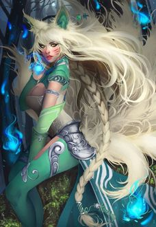 Фото Ahri / Ари арт персонажа из игры League of Legends / Лига Легенд