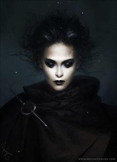 Фото Девушка в черном, by melaniedelon