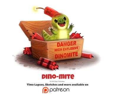 Фото Динозаврик-взрывчатка (Dino-mite), by Cryptid-Creations
