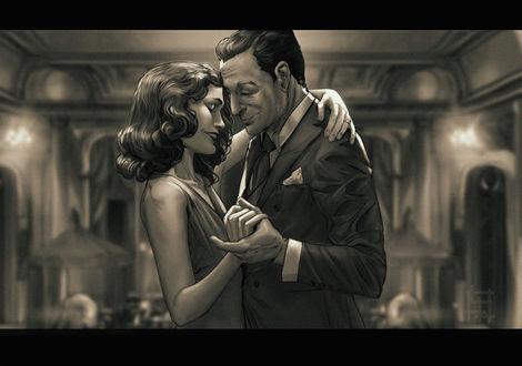 Фото Женщина и мужчина в танце, by Alena YMhin