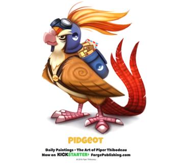 Фото Pidgeot / Пиджеот из аниме Pokemon / Покемон (Pidgeot), by Cryptid-Creations