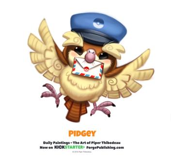 Фото Pidgey / Пиджи из аниме Pokemon / Покемон (Pidgey), by Cryptid-Creations