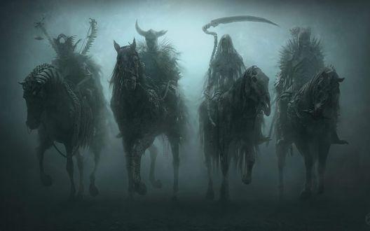 Фото Four Horsemen of the Apocalypse / Четыре всадника Апокалипсиса, by David Masson