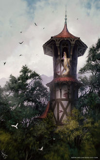 Фото Rapunzel / Рапунцель в башне, by melaniedelon