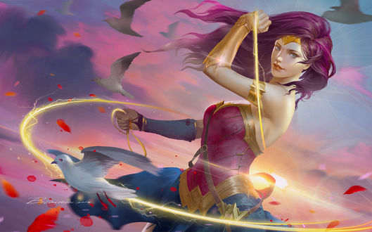 Фото Diana / Дианы из фильма Wonder Woman / Чудо-Женщина, by Taiwei bi