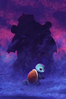 Фото Squirtle / Сквиртл из аниме и игры Pokemon / Покемон, by TamberElla