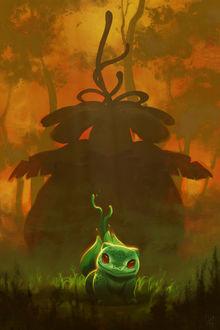 Фото Bulbasaur / Бульбазавр из аниме и игры Pokemon / Покемон, by TamberElla