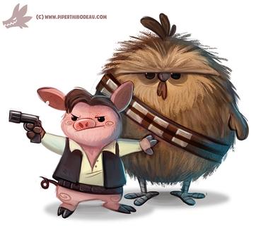 Фото Персонажи из фильма Solo: A Star Wars Story / Хан Соло: Звездные Войны. Истории. by Cryptid-Creations