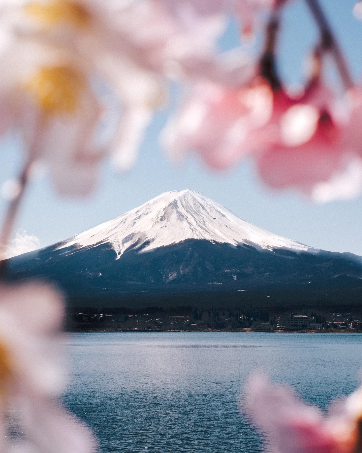 Фото Вид на гору Fuji, Japan / Фудзи, Япония, by Thanai Manasathit