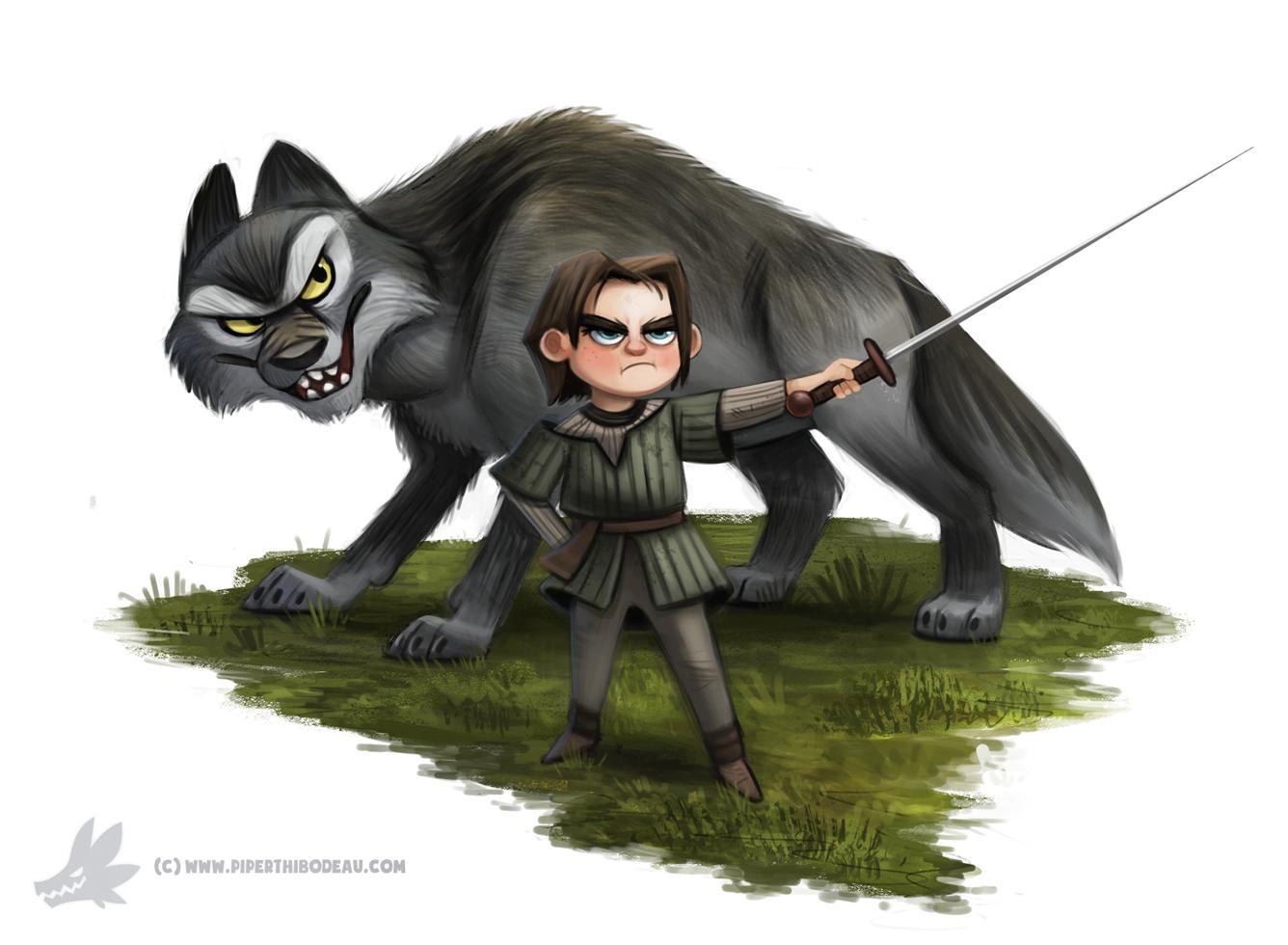 Фото Персонажи из сериала Game of Thrones / Игра престолов, by Cryptid-Creations