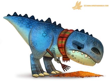 Фото Тираннозавр с граблями, by Cryptid-Creations
