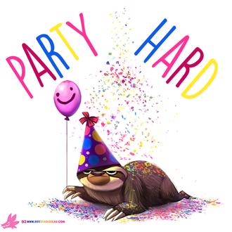 Фото Вечеринка в честь ленивца, by Cryptid-Creations