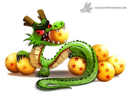 Фото Shen Long / Шенлонг из аниме Dragon Ball / Драконий жемчуг, by Cryptid-Creations