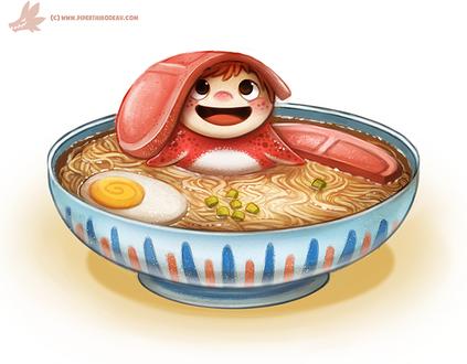 Фото Ponyo / Поньо из аниме Gake no Ue no Ponyo / Рыбка Поньо на утесе, by Cryptid-Creations