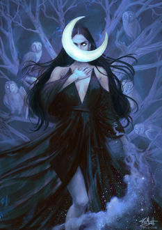 Фото Ночная богини Никс, by Ysvyri