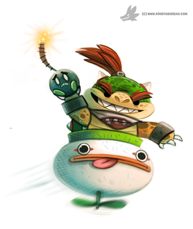 Фото Bowser Jr. из игры Super Mario Galaxy, by Cryptid-Creations