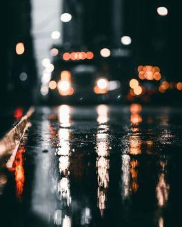 Фото Ночной город Торонто, фото Mathieu Paradis