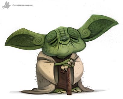 Фото Yoda / Йода из фильма Star Wars / Звездные войны, by Cryptid-Creations