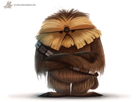Фото Chewbacca / Чубакка из фильма Star Wars / Звездные войны, by Cryptid-Creations